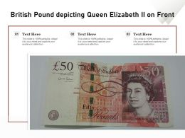 British Pound Depicting Queen Elizabeth II On Front