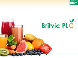 Britvic PLC Company Profile Overview Financials And Statistics From 2014-2018