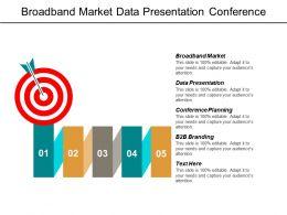 Broadband Market Data Presentation Conference Planning B2b Branding Cpb