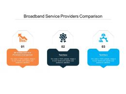Broadband Service Providers Comparison Ppt Powerpoint Presentation Portfolio Objects Cpb