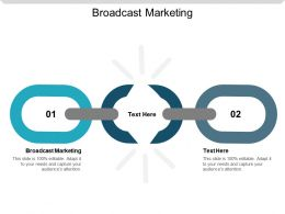 Broadcast Marketing Ppt Powerpoint Presentation Slides Clipart Cpb