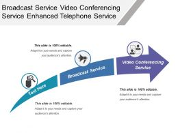 Broadcast Service Video Conferencing Service Enhanced Telephone Service