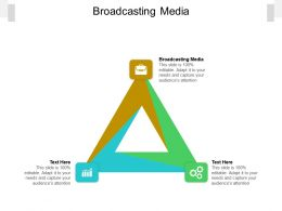 Broadcasting Media Ppt Powerpoint Presentation Ideas Information Cpb