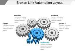 Broken Link Automation Layout