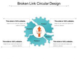 Broken Link Circular Design
