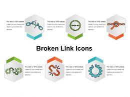 Broken Link Icons