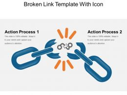 Broken Link Template With Icon