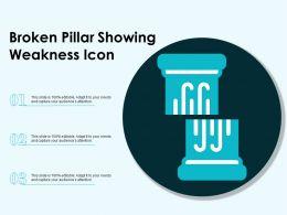 Broken Pillar Showing Weakness Icon