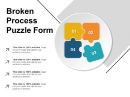 Broken Process Puzzle Form