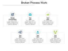 Broken Process Work Ppt Powerpoint Inspiration Example Introduction Cpb