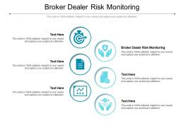 Broker Dealer Risk Monitoring Ppt Powerpoint Presentation Layouts Designs Download Cpb