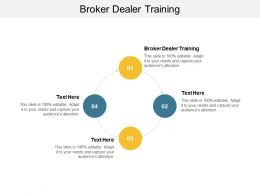 Broker Dealer Training Ppt Powerpoint Presentation Infographics Graphic Tips Cpb