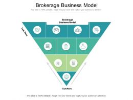 Brokerage Business Model Ppt Powerpoint Presentation Pictures Introduction Cpb