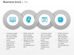 Browse Mails Idea Generation Data Transfer On Internet Browser Pie Chart Ppt Icons Graphics