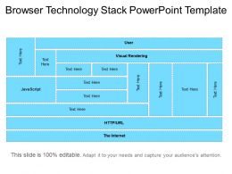 Browser Technology Stack Powerpoint Template