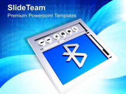 Browsing The Web Via Bluetooth PowerPoint Templates PPT Themes And Graphics 0513