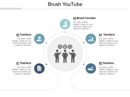 Brush Youtube Ppt Powerpoint Presentation File Graphics Tutorials Cpb