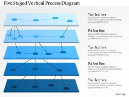 Bs Five Staged Vertical Process Diagram Powerpoint Template