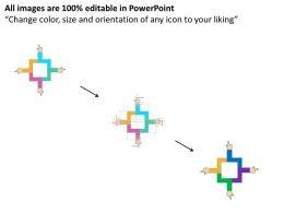 bs_four_staged_arrow_hand_diagram_flat_powerpoint_design_Slide02