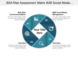 Bsa Risk Assessment Matrix B2b Social Media Management Cpb