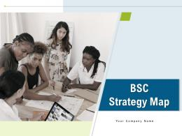 BSC Strategy Map Powerpoint Presentation Slides