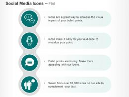 Bubble Mail Communication Group Chat Ppt Icons Graphics