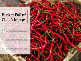 Bucket Full Of Chillis Image