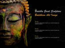 Buddha Great Sculpture Buddhism Art Image