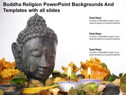Buddha Religion Powerpoint Backgrounds And Templates With All Slides