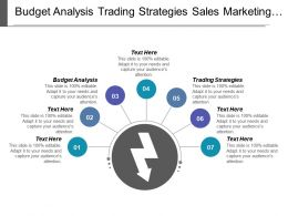 Budget Analysis Trading Strategies Sales Marketing Email Marketing Cpb