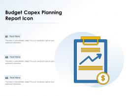 Budget Capex Planning Report Icon
