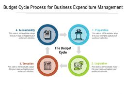 Budget Cycle Process For Business Expenditure Management