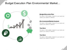 Budget Execution Plan Environmental Market Analysis Competitive Advantage