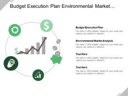 Budget Execution Plan Environmental Market Analysis Competitive Advantage