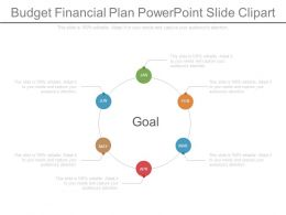 Budget Financial Plan Powerpoint Slide Clipart
