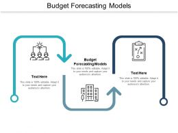 Budget Forecasting Models Ppt Powerpoint Presentation Styles Graphics Cpb