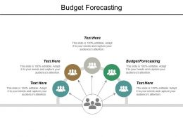 Budget Forecasting Ppt Powerpoint Presentation Outline Demonstration Cpb