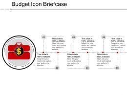 Budget Icon Briefcase