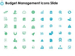 Budget Management Icons Slide Threat Ppt Powerpoint Presentation Pictures Gallery