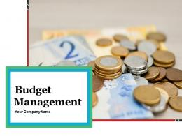 Budget Management Powerpoint Presentation Slides