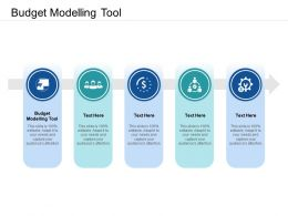 Budget Modelling Tool Ppt Powerpoint Presentation Outline Model Cpb