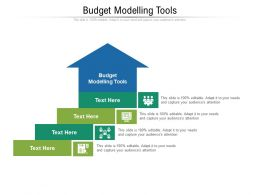 Budget Modelling Tools Ppt Powerpoint Presentation Show Graphics Download Cpb