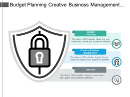 Budget Planning Creative Business Management Different Types Culture Cpb