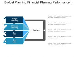 Budget Planning Financial Planning Performance Evaluation Waste Management Cpb