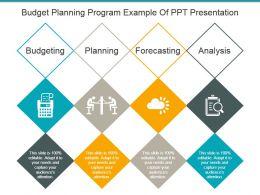Budget Planning Program Example Of Ppt Presentation