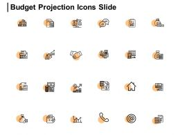 Budget Projection Icons Slide Threat Dollar Ppt Powerpoint Presentation Gallery Outfit