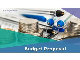 Budget Proposal Powerpoint Presentation Slides