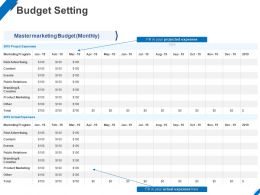 Budget Setting Ppt Powerpoint Presentation Infographics Format