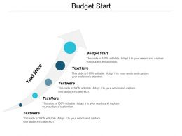Budget Start Ppt Powerpoint Presentation Model Mockup Cpb