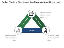 Budget Tracking Final Accounting Business Need Operational Goals